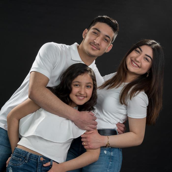 fotoshoot jongeren
