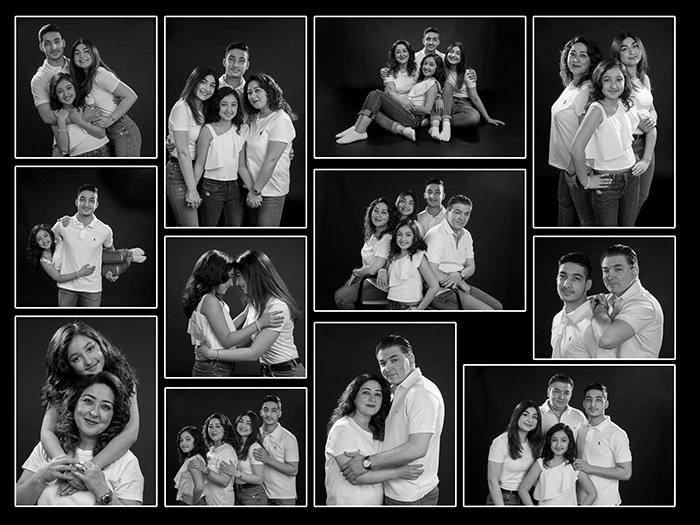 fotocollage familiefoto