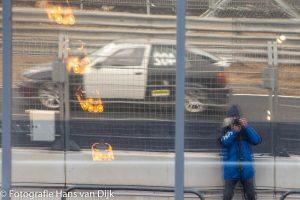 Vrij rijden op het vernieuwde Zandvoort circuit door Jay en Charles met instructeur Melroy op 5 maart 2020