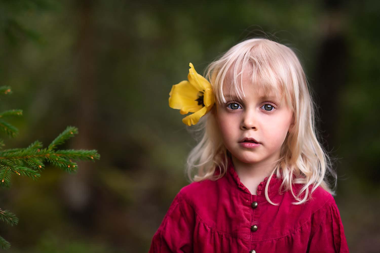 Elsa red dress Fotograf Maria Lindberg-3