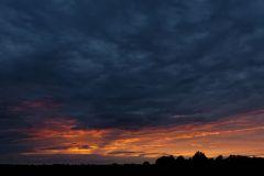 (c) Martin Schneider - Sonnenuntergang im Oderbruch