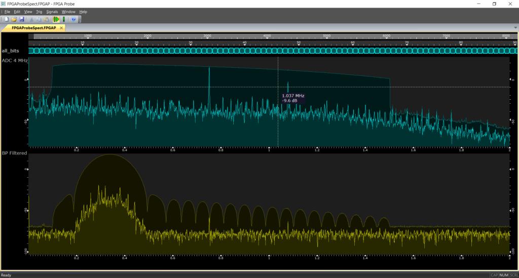 FPGA Spectrum Analyzer