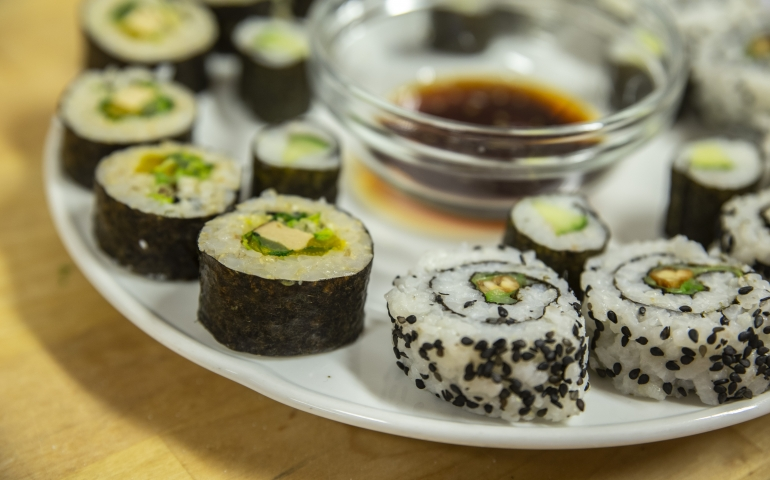 Workshop: Vegan sushi – Gimsel Academy