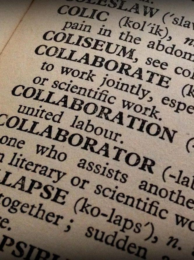 collaboration, collaborator, book