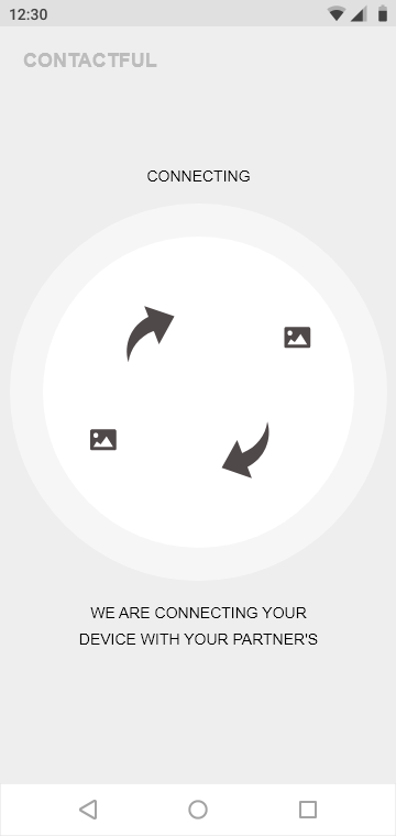 Connecting to Device - Samsung S10 - 360x760px – 1