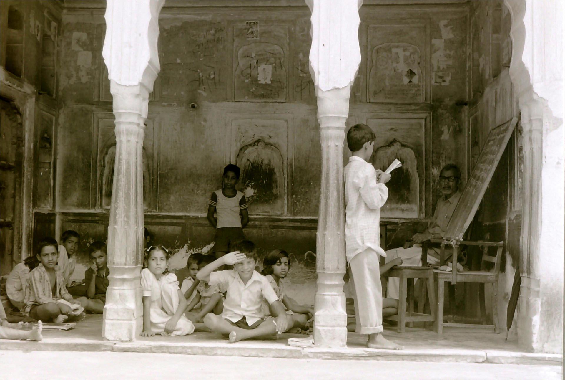 018-Scuola a Mandawa India 1990