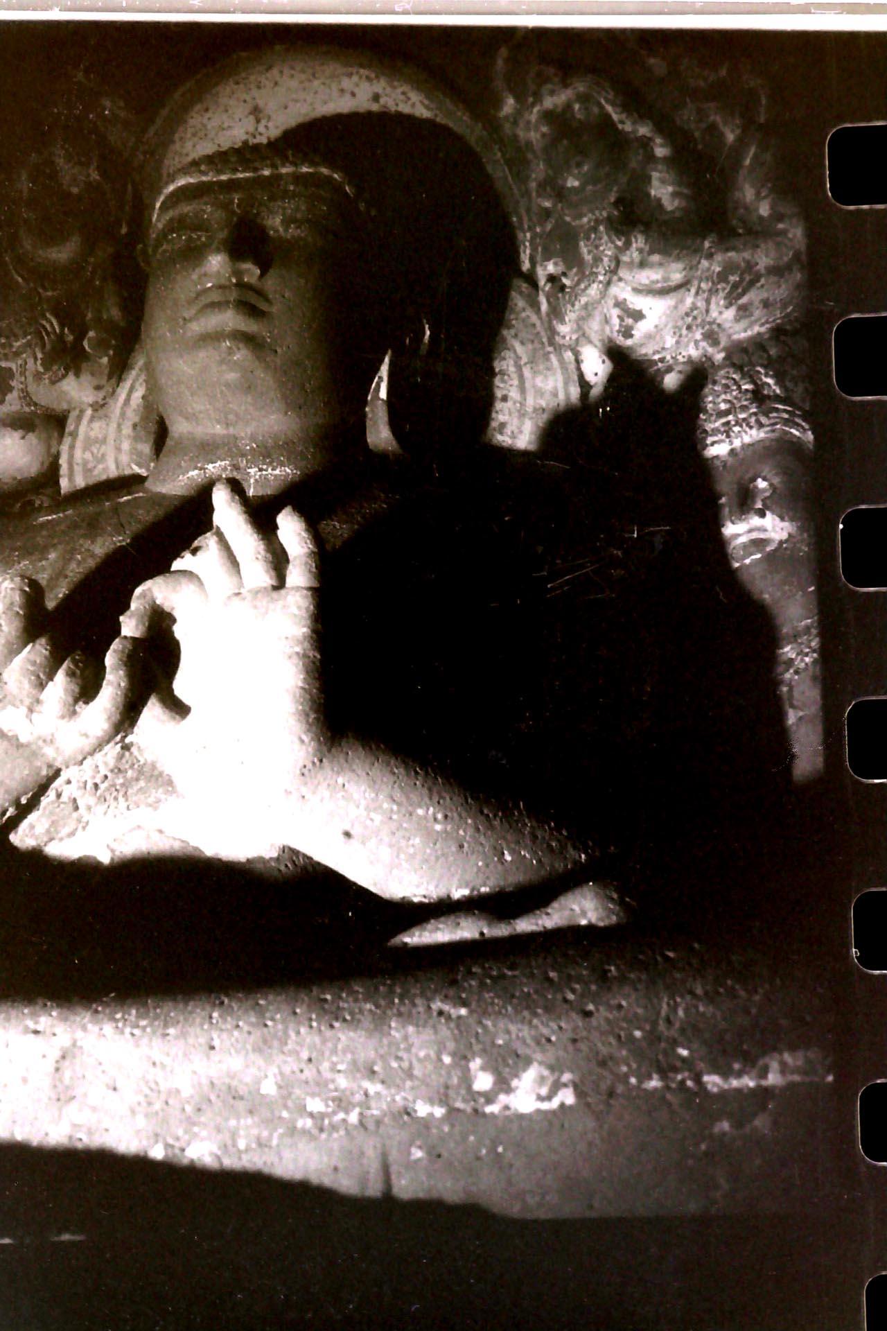 019-Tempio di Ajanta,India 1990