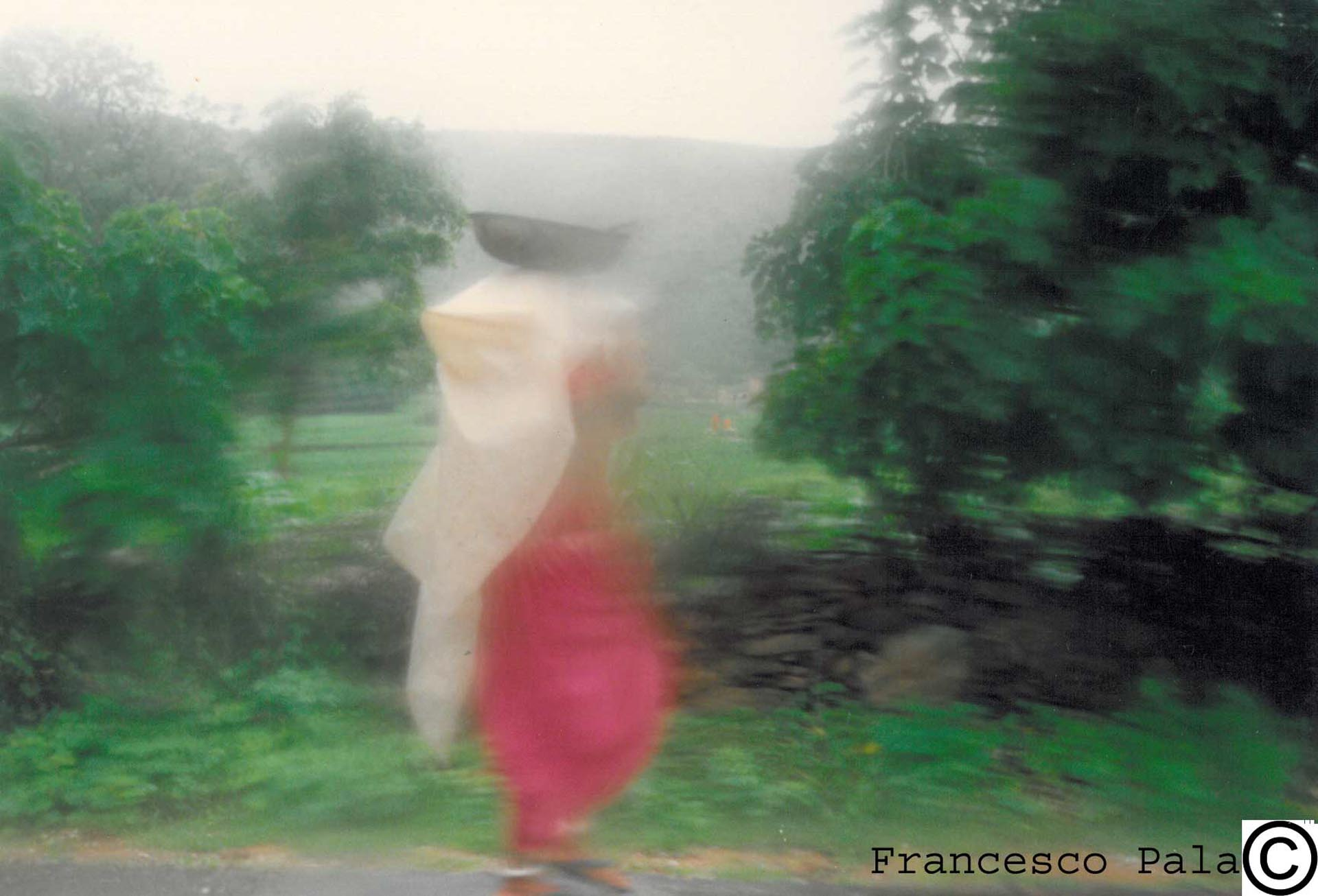 During the Monsoon rain, Countryside '90