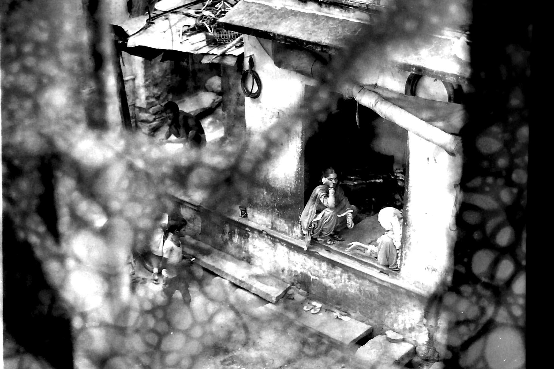 India 1990( dal tetto dela casa di Ram Shanka a Pushkar)