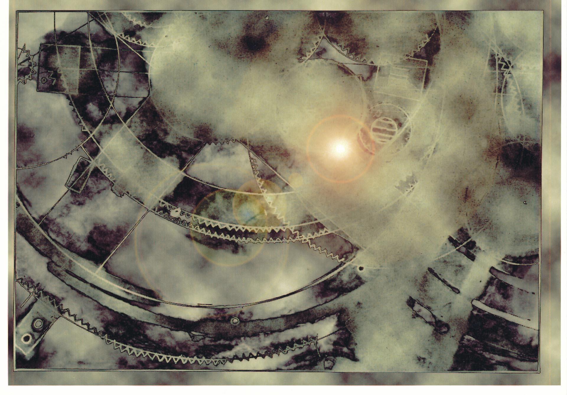 L'Enigma di Antikithera-Fotogramma da pellicola Lith & Luminogram, 2012