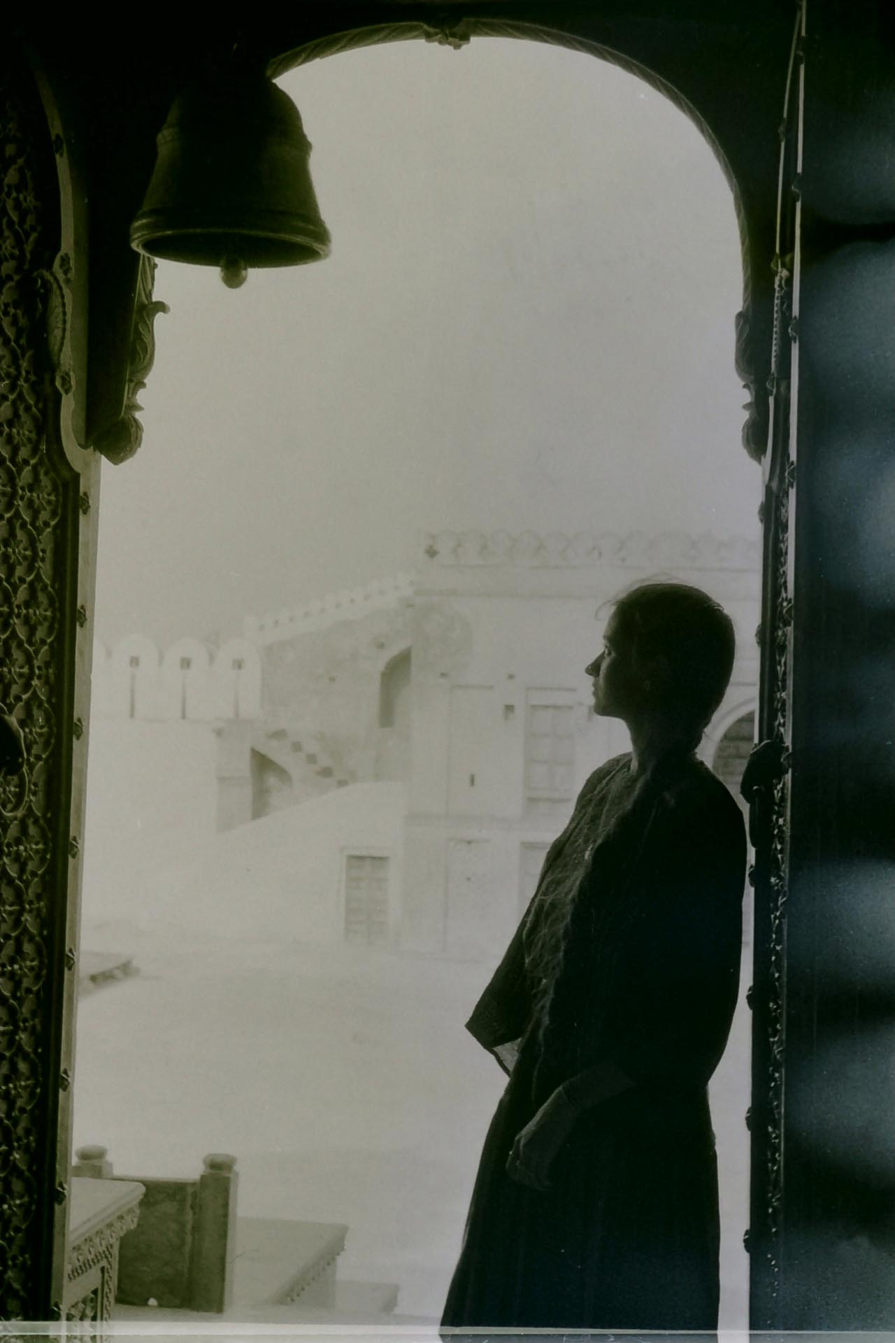 Sulla porta del Tempio,Jaipur 1990