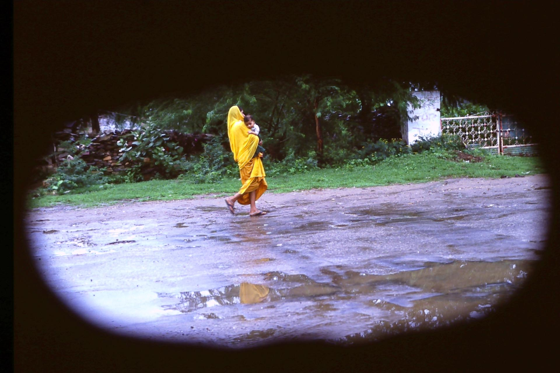 after the monsoon rain,' Asia 90