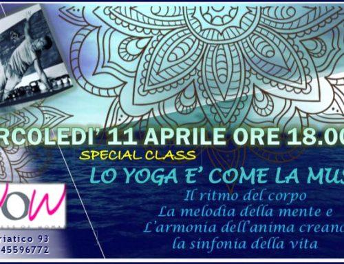 """Special Open Class: """"Lo Yoga è come la musica"""" con Franco Comoda"""