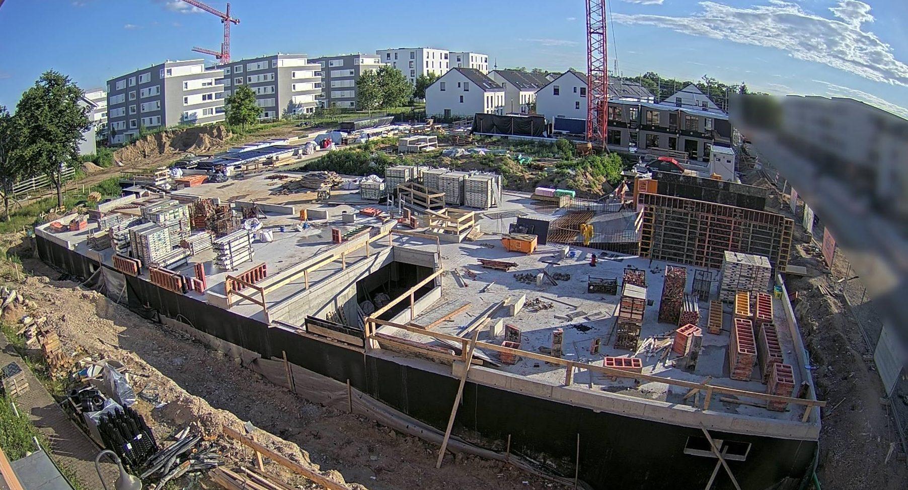 Baustellenbild 07.07.2021
