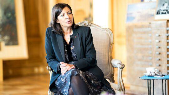 Anne Hidalgo, candidate à la présidence.