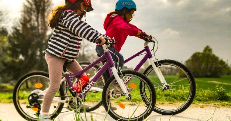 Kinderfahrräder von Woom im Langzeit-Test