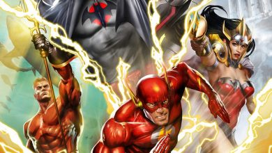 Photo of Justice League: The Flashpoint Paradox.