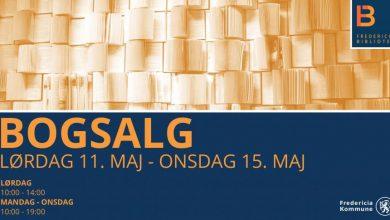 Photo of Bogsalg på Fredericia Bibliotek – LØRDAG 11. MAJ – ONSDAG 15. MAJ