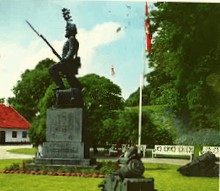 Photo of Landsoldat-monumentet renoveres