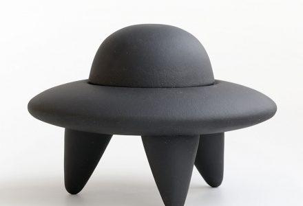 UFO, skål med lock