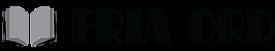 FRIA ORD förlaget som ger ut – Logotyp