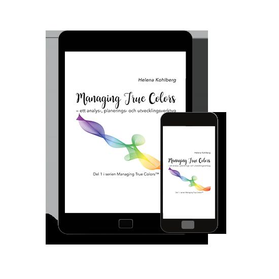 Boken Managing True Colors - ett analys-, planerings- och utvecklingsverktyg