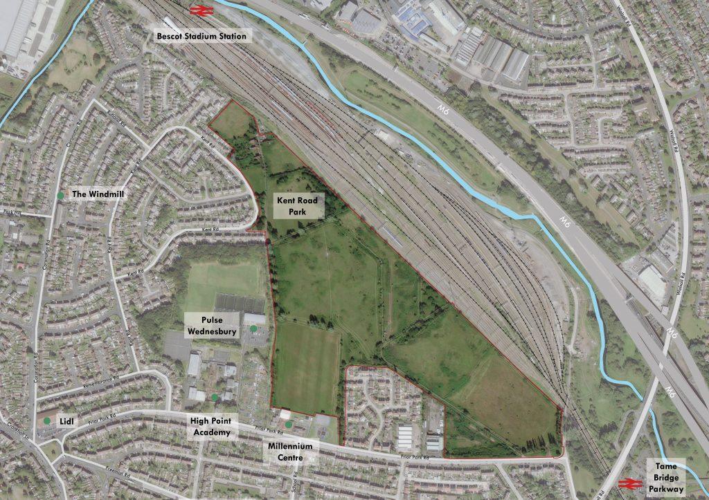 Friar Park Urban Village and Key Local Landmarks