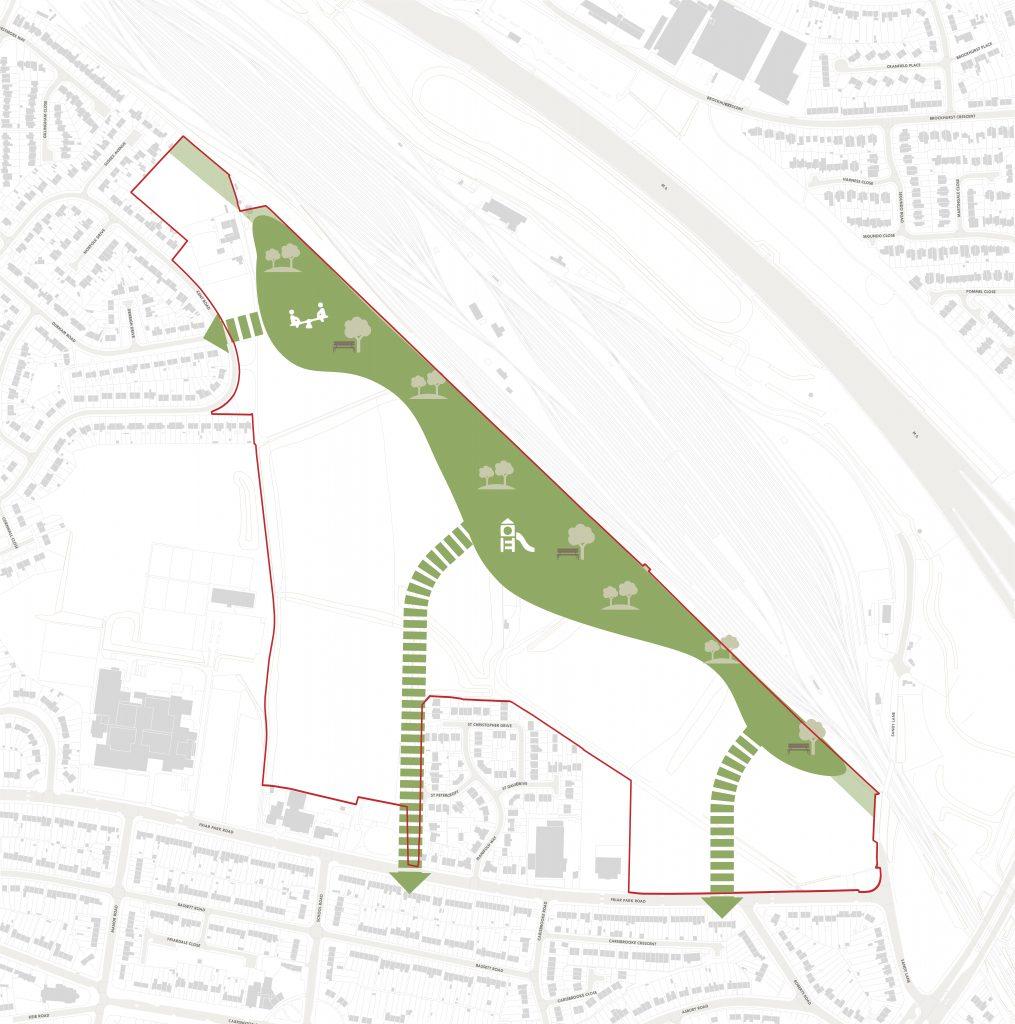Approach 1 - Linear Park
