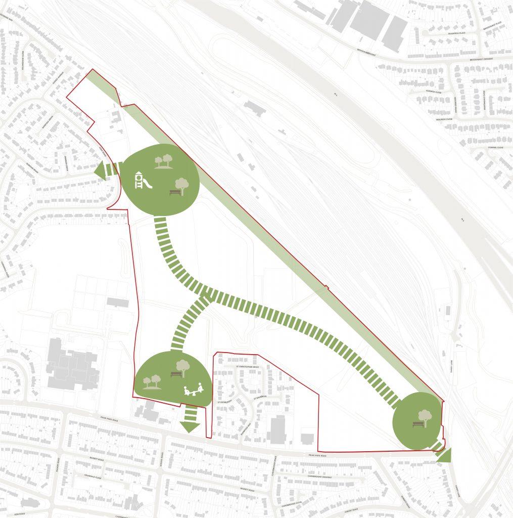 Approach 2 - Community Parks