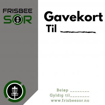 Frisbee Sør – Gavekort