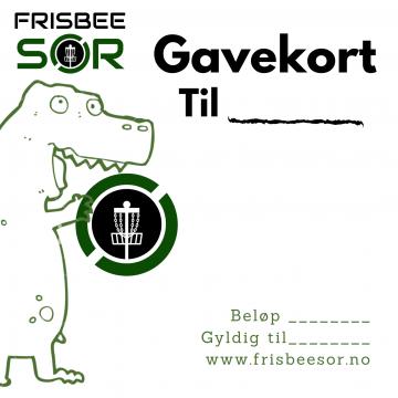 Frisbee Sør – Gavekort Barn