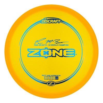 40614 Discraft 5X Paul McBeth Z Zone 1 Frisbeesor.no