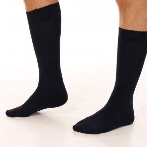 lange sokker mann svart Frisbeesor.no