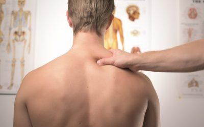 Muskelsmärta och obalans i axelleden