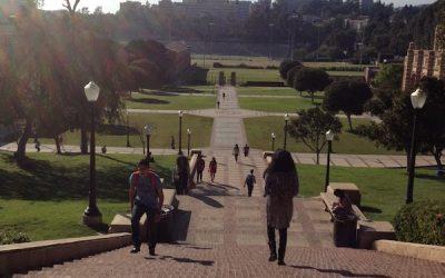 Besök på UCLA