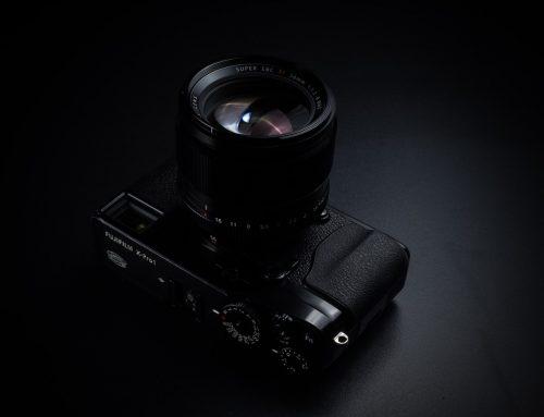 Lär dig att fotografera innan du uppdaterar din kamerautrustning.