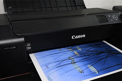 Halvdagskurs i printning.
