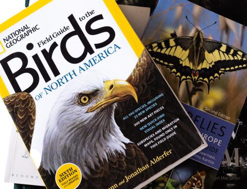Därför läser/tittar jag sällan i naturfotoböcker.