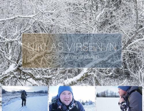 Skidor & vinterlandskap.