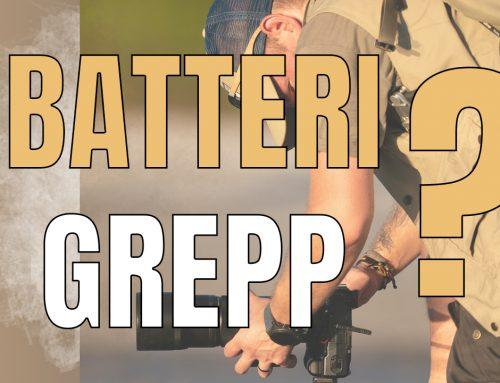 Vad ska du använda ett batterigrepp till?