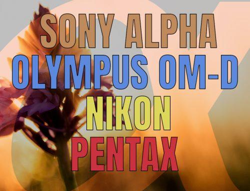 Mina kamerasystem – en återblick (Pentax, Nikon & Olympus).