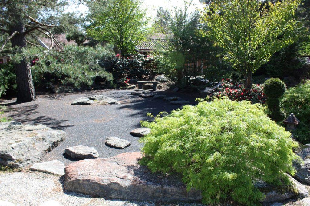 Zenhage i den Japanske Hagen i Odden Hage