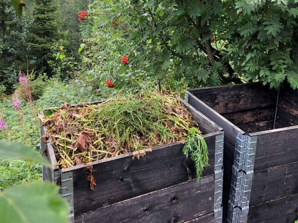 Kompost i pallekarmer