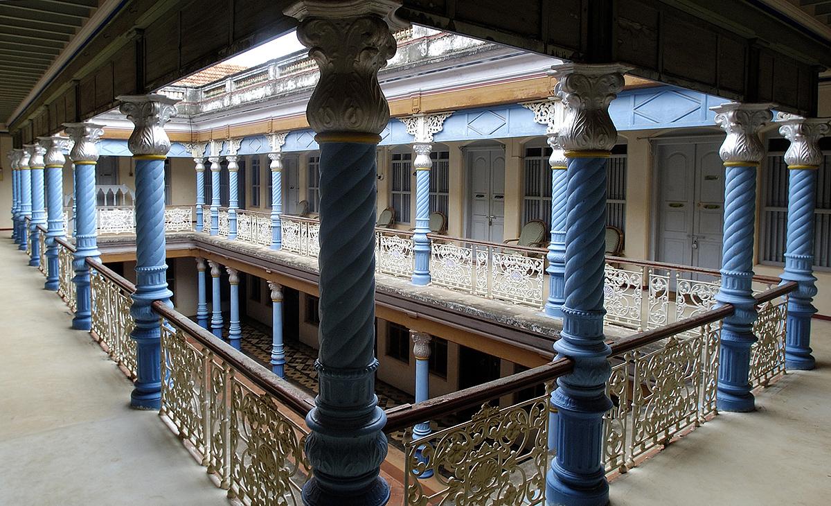 Chettinad mansion