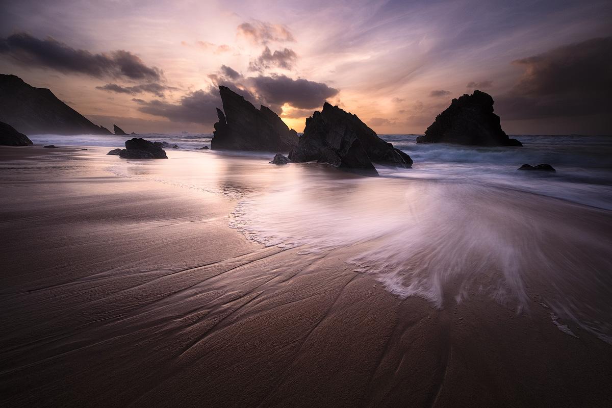 Praia da Adraga, Portugal, at sunset – X-T1 + XF10-24mm