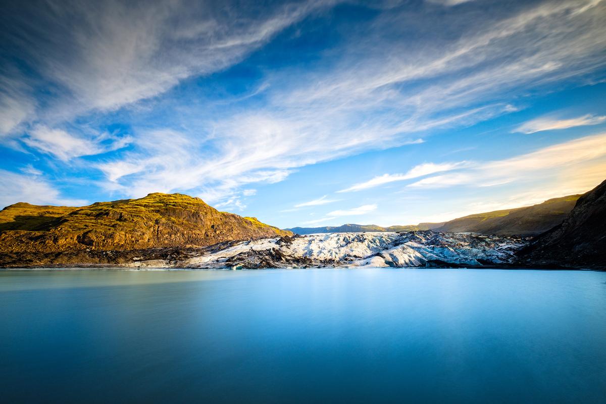 Eyjafjallajökull - 10mm F8 30s iso200 - ND filter