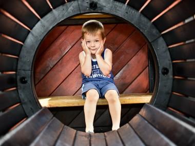 foto ritratto per bambino