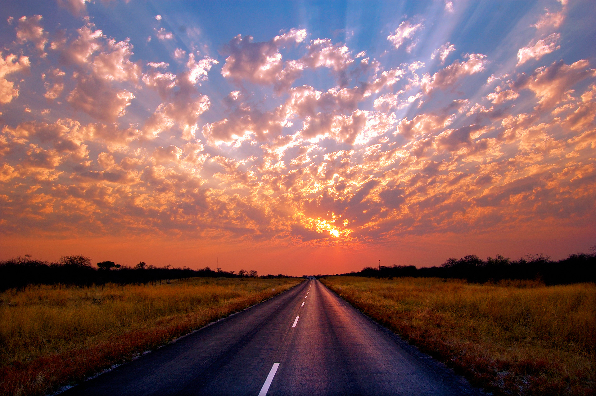Fotografare il cielo al tramonto