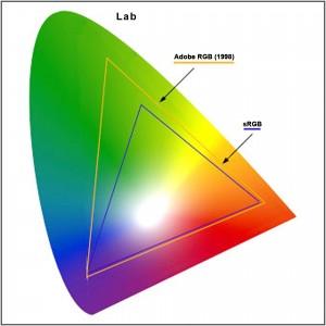 GAMUT Adobe (1998), sRGB