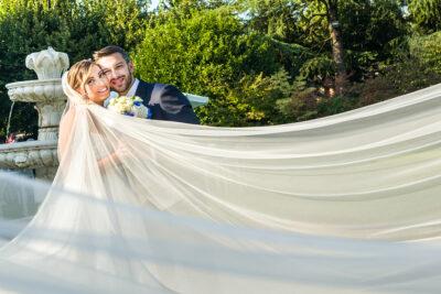 Fulvio Villa Photographer: fotografia velo sposa